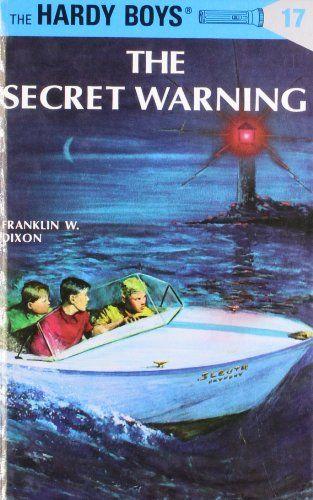 Hardcover 724 The Secret Warning Hardy Boys No 17 By Franklin Great BooksThe SecretChildren