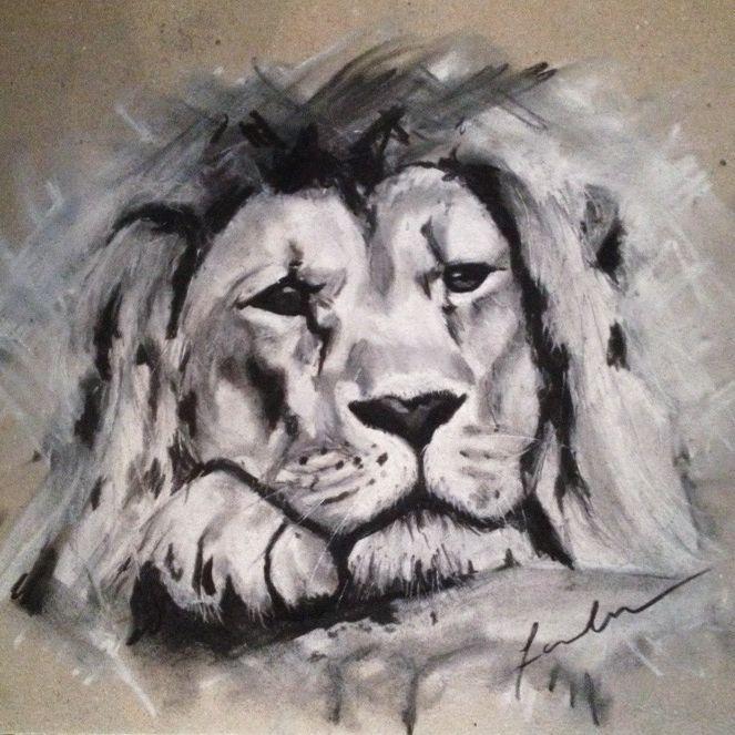 even the lion the get sad