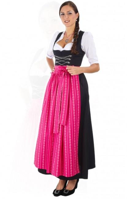 Oktoberfest dirndl apron SC190 pink