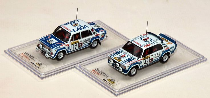 Lada 21011 Rally and Lada VFTS  Scale 1/43 Price €62 + shipping.