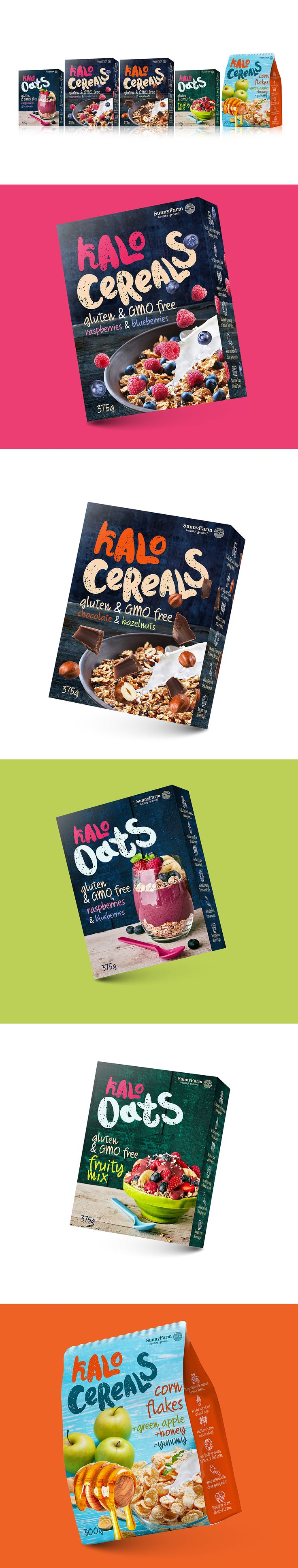 KALO OATS gluten and GMO free cereals for everyone.