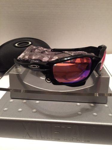 #Oakley Racing Jacket Black Frame Prizm Trail Lenses Case Bag 9171-03 Free S/H#