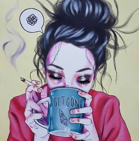 قهوة العصر ههههههه