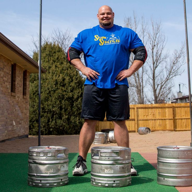 Brian Shaw went from small town Colorado to becoming a three-time winner of the World's Strongest Man contest. VICE Sports met Shaw in Denver to see what it takes to become the kind of person that can pick up cars.