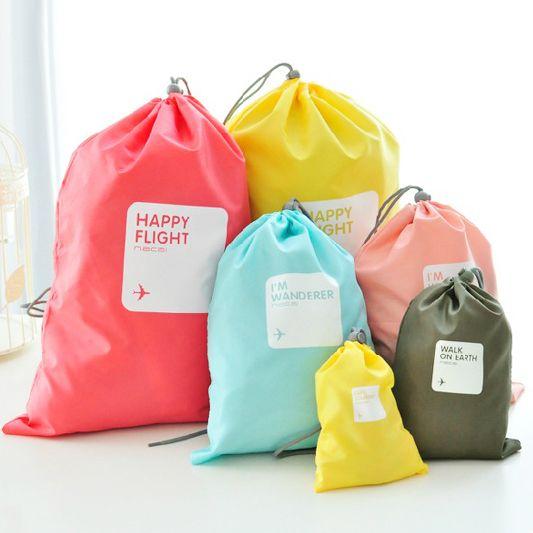 Murah Tahan air 4 pcs/set bepergian kemasan kubus pakaian Organizer tas penyimpanan dalam tas, Kualitas Beli Onderdil Tas & Perlengkapannya langsung dari China Pemasok:      1set = 4pcs = 1SS + 1S + 1M + 1L
