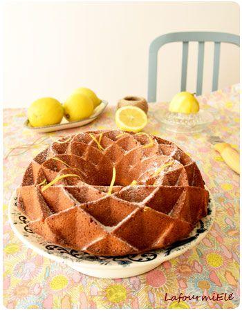 Gâteau moelleux au fromage blanc coco et citron parfait pour l'heure du thé !