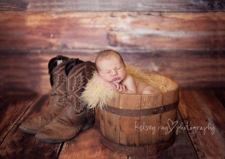 newborn cowboy pictures - Google Search