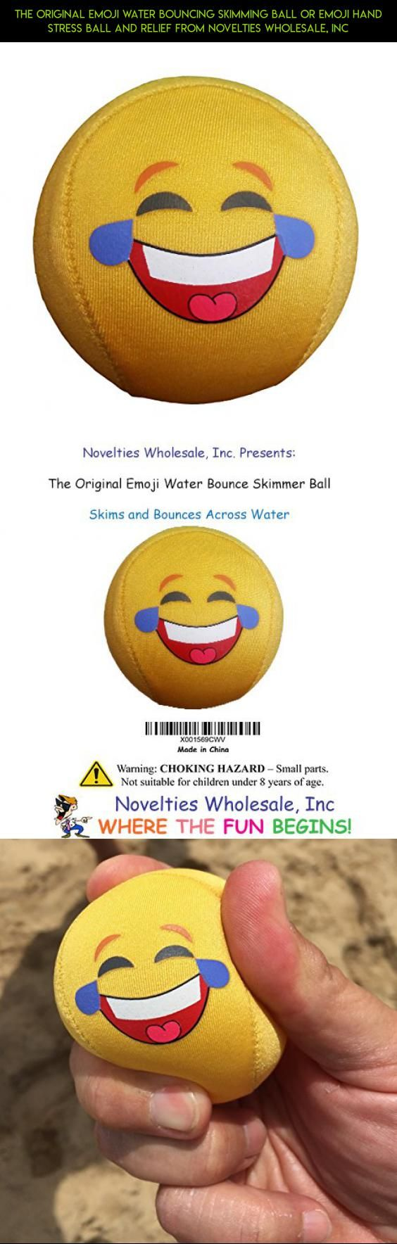 The Original Emoji Water Bouncing Skimming Ball or Emoji Hand Stress Ball and Relief from Novelties Wholesale, Inc #parts #products #camera #racing #shopping #tech #fpv #technology #cube #kit #fidget #plans #drone #emoji #gadgets