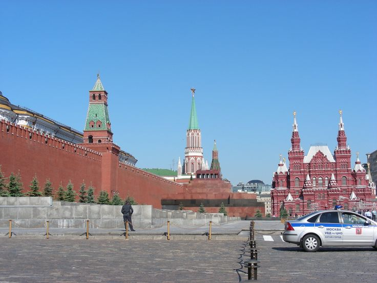 Moscow, our starting point on this journey.  Pictured here is the well known Red Square and the walls of the Kremlin.