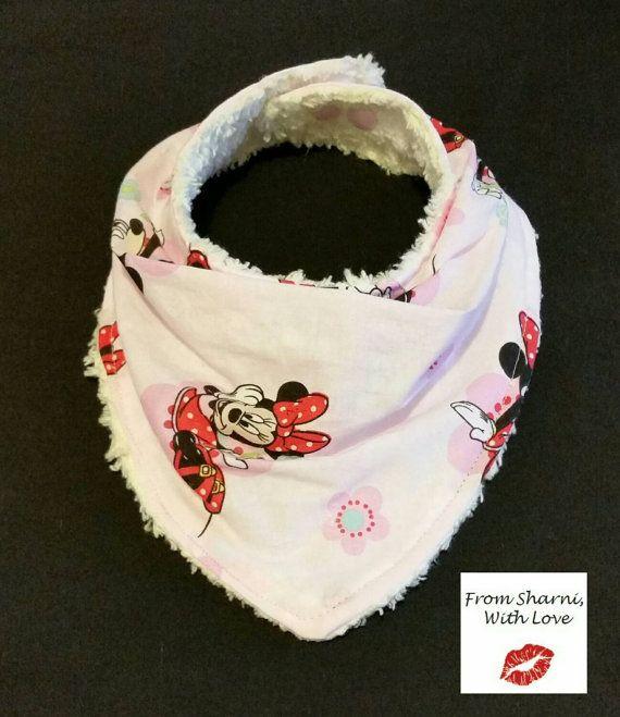 Check out this item in my Etsy shop https://www.etsy.com/au/listing/264931837/bandana-bib-dribble-bib-mouse-bib-pink