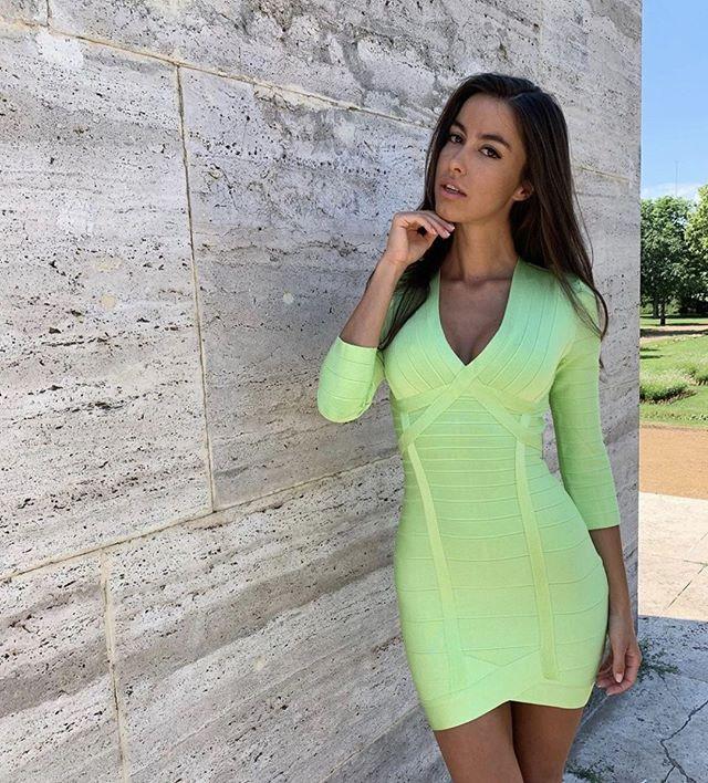 Goldman Clothing Billiga Bandage klänningar väskor snygga
