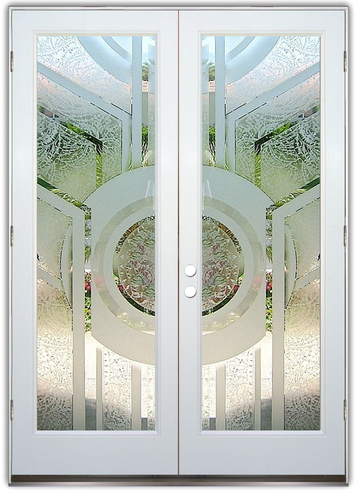 137 best images about double entry doors frosted glass for Etched glass entry doors