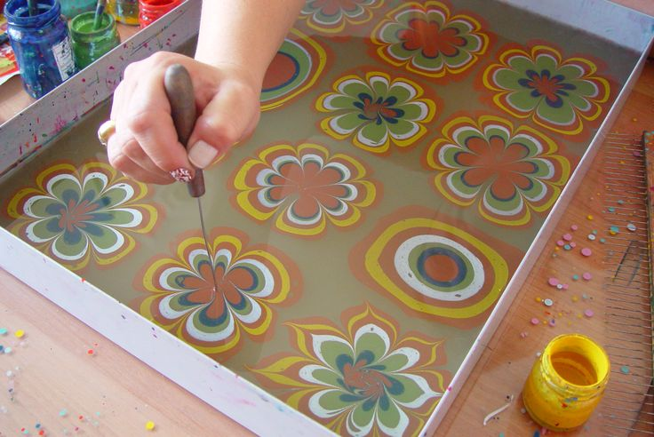 Ebru Art (Marbling Paper) Lessons | Turkish Arts | Page 2