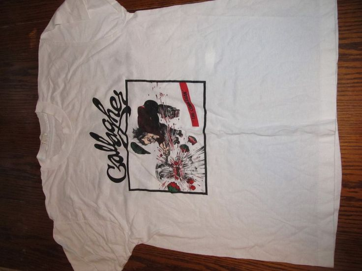 """Vintage and Original Gallagher """"Comedian"""" 80's T-Shirt - XL - Never Worn! #GraphicTee"""