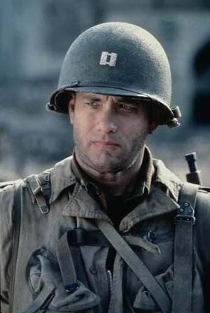 "Tom Hanks in ""Saving Private Ryan"" (1998)"