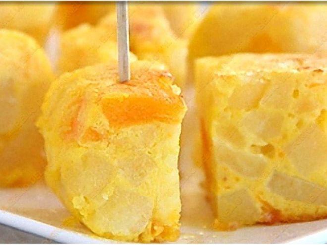 Ricetta Antipasto : Frittata di patate e yogurt da Ilbellodelfornello