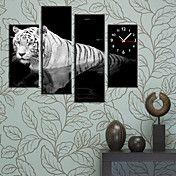 μοντέρνο στυλ ρολόι τοίχου τίγρη στο σύνολο κ... – EUR € 65.99
