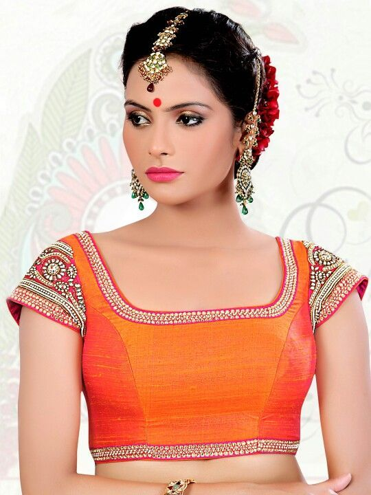 Beautiful blouse design