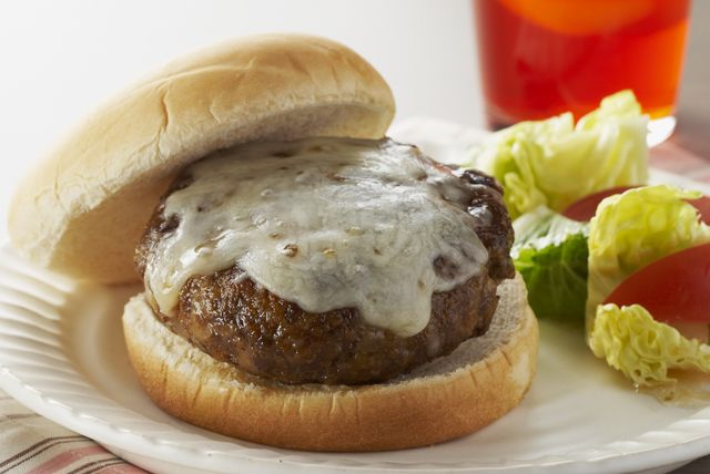 These easy burgers get all their flavour from SHAKE'N BAKE coating mix!