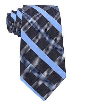 DKNY Tie, Sangria Plaid - Mens Ties - Macy's