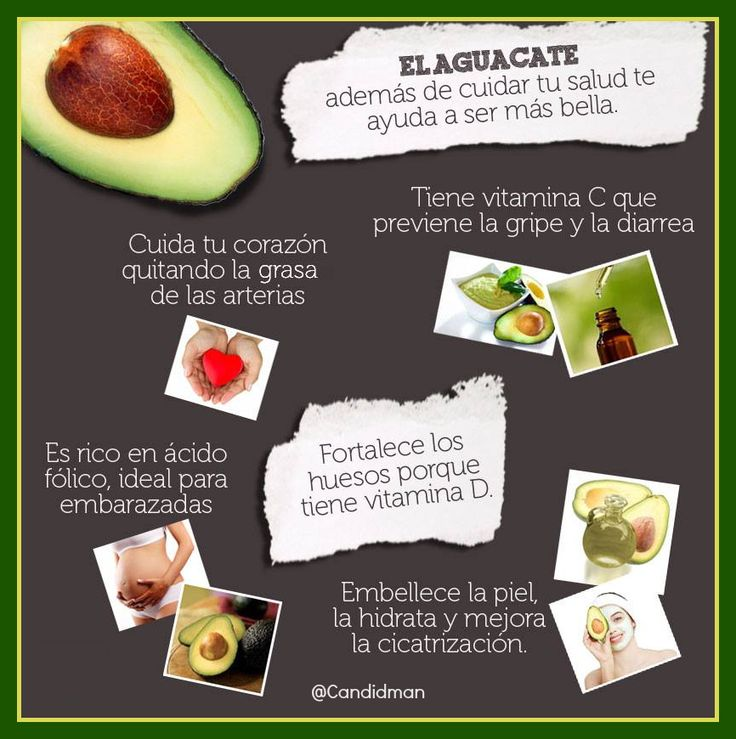 #Infografia 5 #Beneficios para la #Salud del #Aguacate... vía @Candidman  El #Aguacate además de cuidar tu #Salud te ayuda a ser más #Bella...