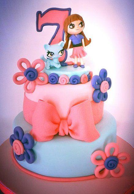 Littlest Pet Shop: Cakes Inspiration, Little Pet Shops Birthday, Littlest Pet Shops, Littlest Petshop Parties Ideas, Sweet Shops, Female Birthday, Petshop Stuff, Birthday Cakes, Pet Birthday