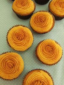 PECADO DA GULA: Cupcakes de fubá com brigadeiro de milho