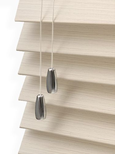 Reflections Limewash 50mm Faux Wood Blind by tuiss ®