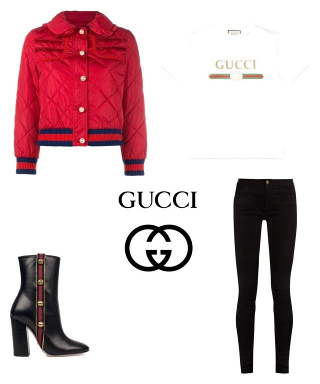 """""""Gucci💣"""" by parisianights on Polyvore featuring moda ve Gucci"""