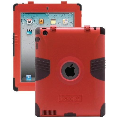 fantastic Trident KRAKEN 2 Case for Apple iPad 2, Red (KKN2-IPAD-2-RD)