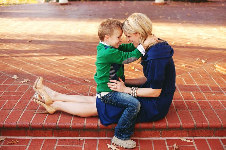Love this pose with an older boy. Most cute mom/ kid poses are with babies and toddlers.