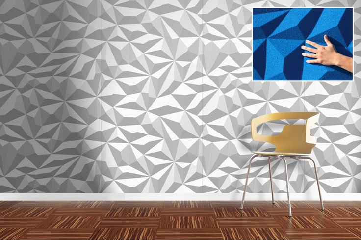 Facet Wall Panels Double Scale