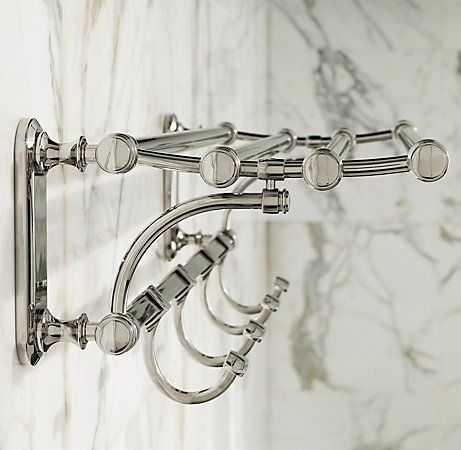 Lugarno Train Rack With Hooks From Restoration Hardware Simple Living Pinterest