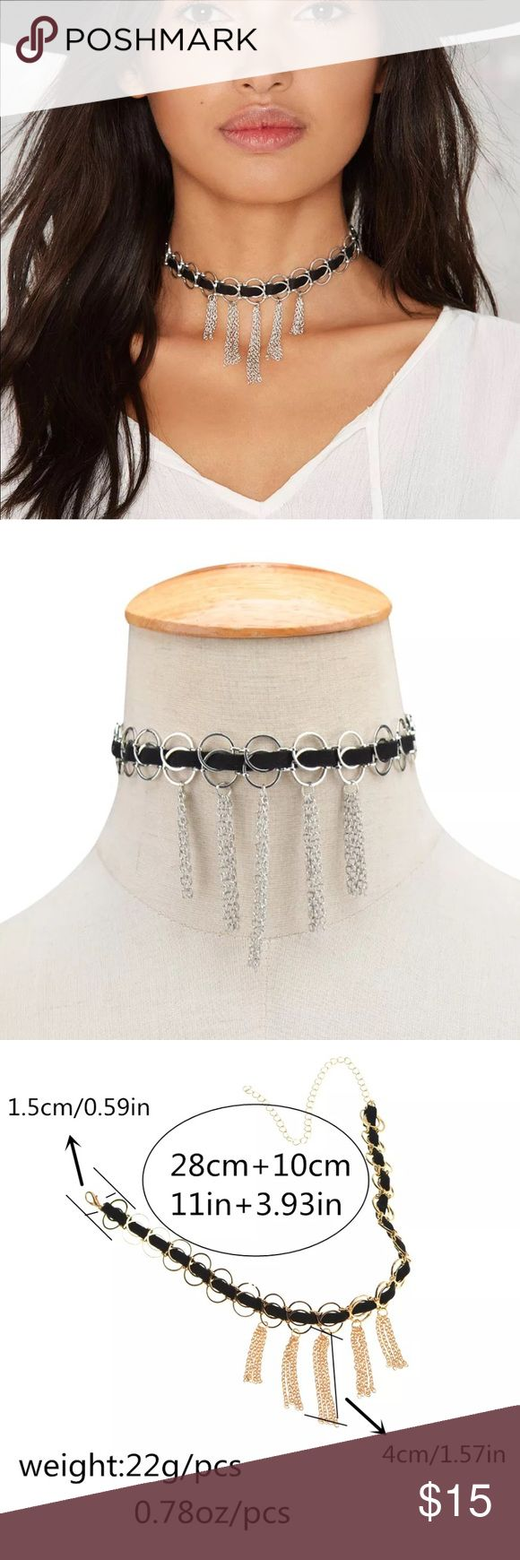 New✨ Tassel Silver Choker  ✨ ✨Fashion Jewelry ✨Alloy ✨Silver Plated  🔸Brand New✨ 🔸PRICE IS FIRM- already listed at lowest price  🔸If you want to save please look into bundling  🔸In Stock 🔸No Trades 🔸Will ship within 24 hours Monday-Friday  🚫Please -NO- Offers on items priced $10 and under AND ON SALE ITEMS‼️  🚫Serious Inquiries Only❣️  🔹Bundle one or more items from my boutique to only pay one shipping fee✨ Jewelry Necklaces
