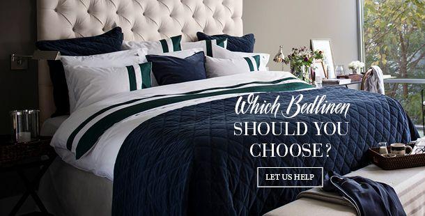 Not sure which bedlinen to choose? Let us guide you! You will learn about different fabrics, such as sateen, poplin and percal - and what differs them.