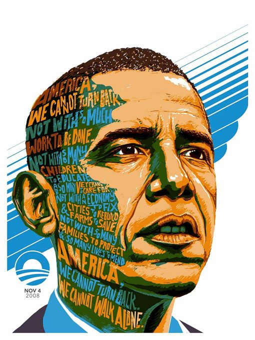 10 Barack Obama Portrait Inspiration