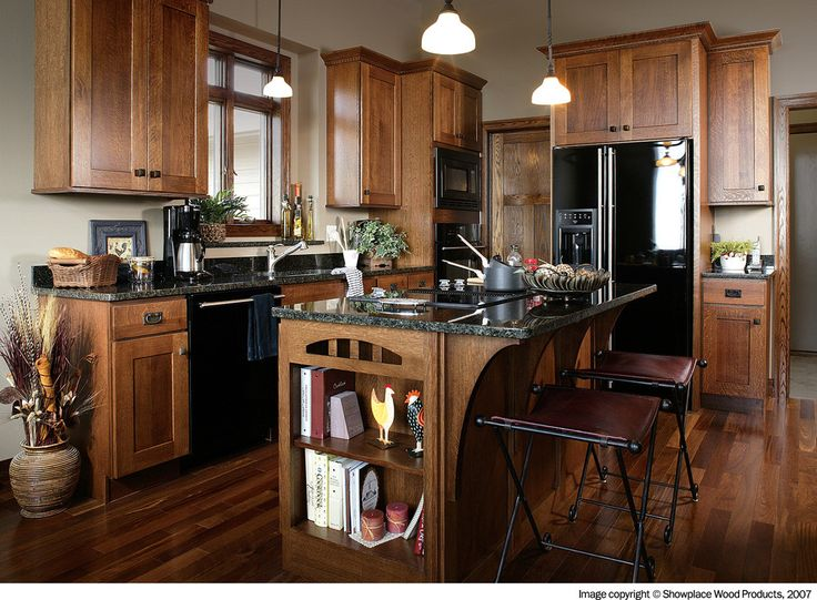 Design In Wood What To Do With Oak Cabinets: Foxy Quarter Sawn White Oak Home Renovations Traditional