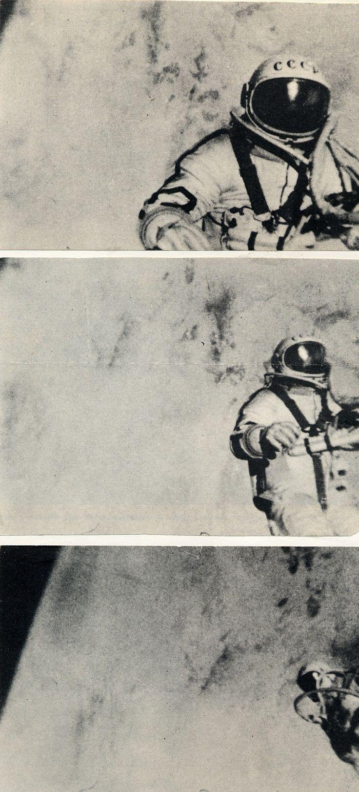 Alexei Leonov, spacewalk