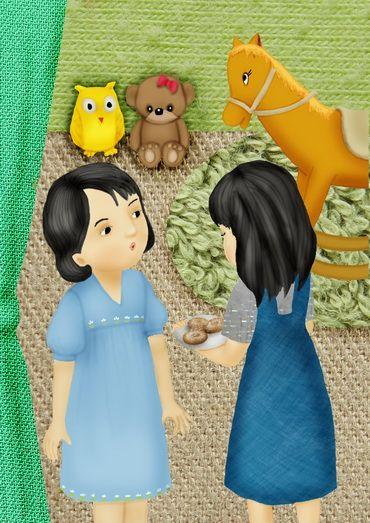 """Illustration for e-book """"Rumah Besar Rumah Kecil"""""""