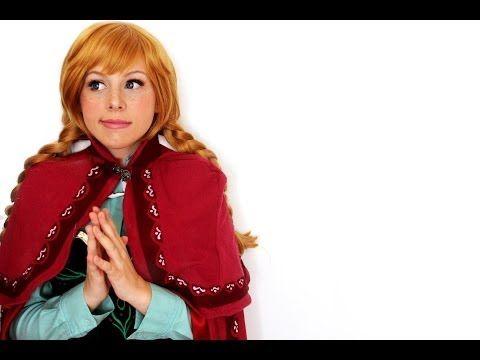 Anna Makeup Frozen