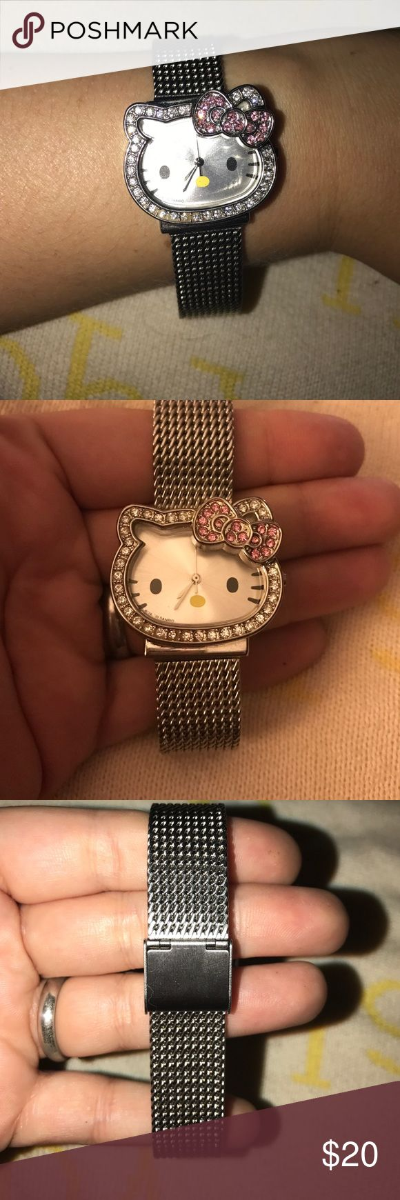Spotted while shopping on Poshmark: Authentic Hello Kitty watch!! #poshmark #fashion #shopping #style #Hello Kitty #Accessories