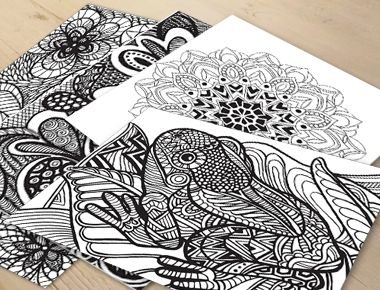 15 Best Images About Adult Coloring News On Pinterest
