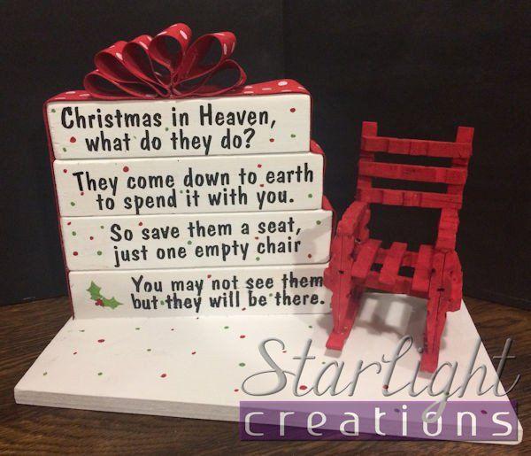 Christmas in Heaven Block Set
