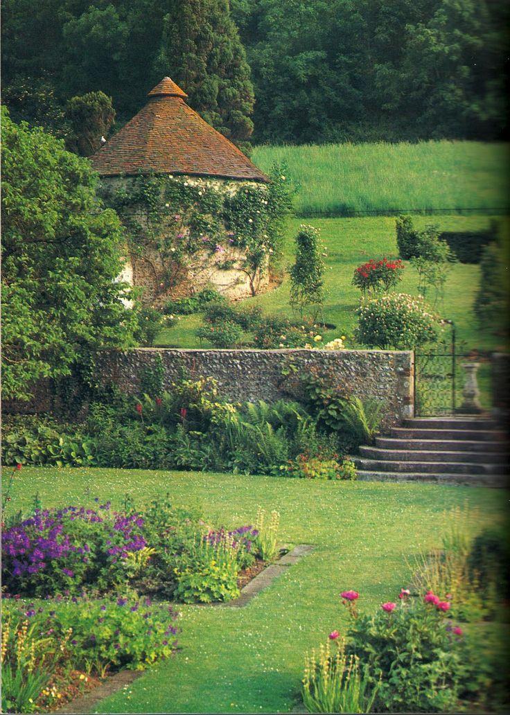 Charleston Manor Garden, East Sussex