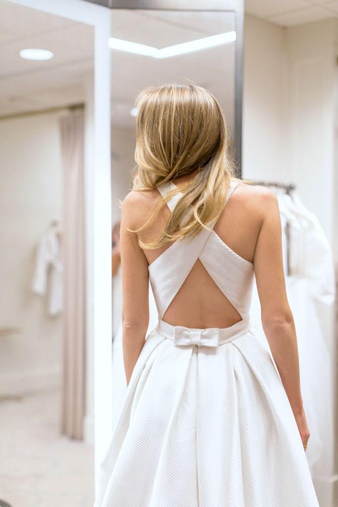 Stunning statement wedding dress backs