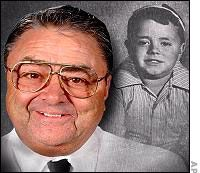 George McFarland:he joined the Air Force at 24 in 1952. (Spanky from Little Rascals)