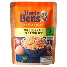 Uncle Bens Express Rice Whole Grain Egg Fried 250G