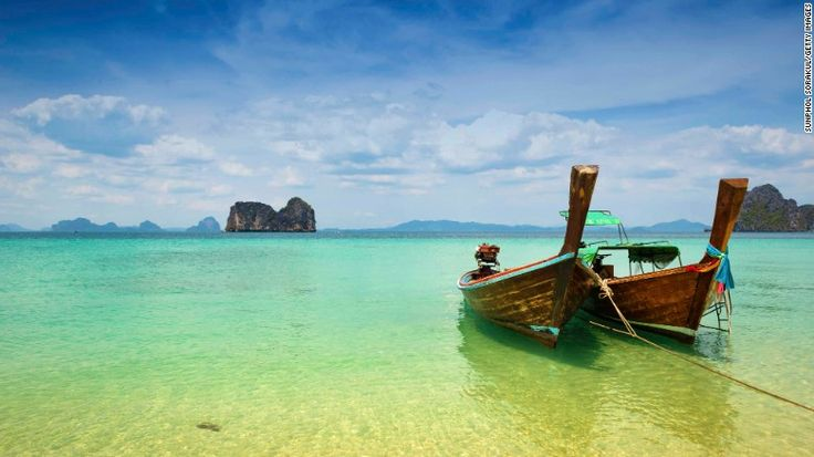 The islands of Trang, Thailand, a sleepy province in southeast Thailand, have remained under the radar. Wooden longtail boats can be rented to travel between the islands -- and to see the endangered dugongs.