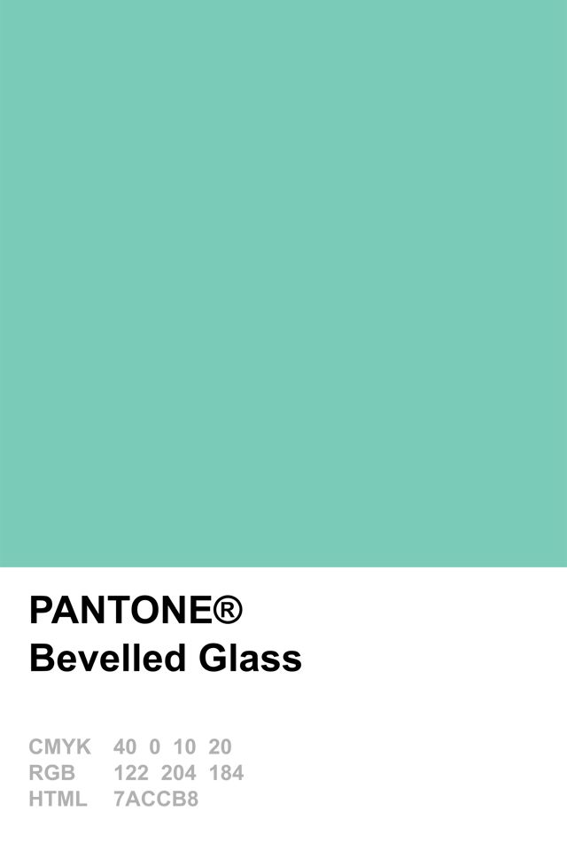 pantone 2015 bevelled glass - Pantone Color Swatch Book