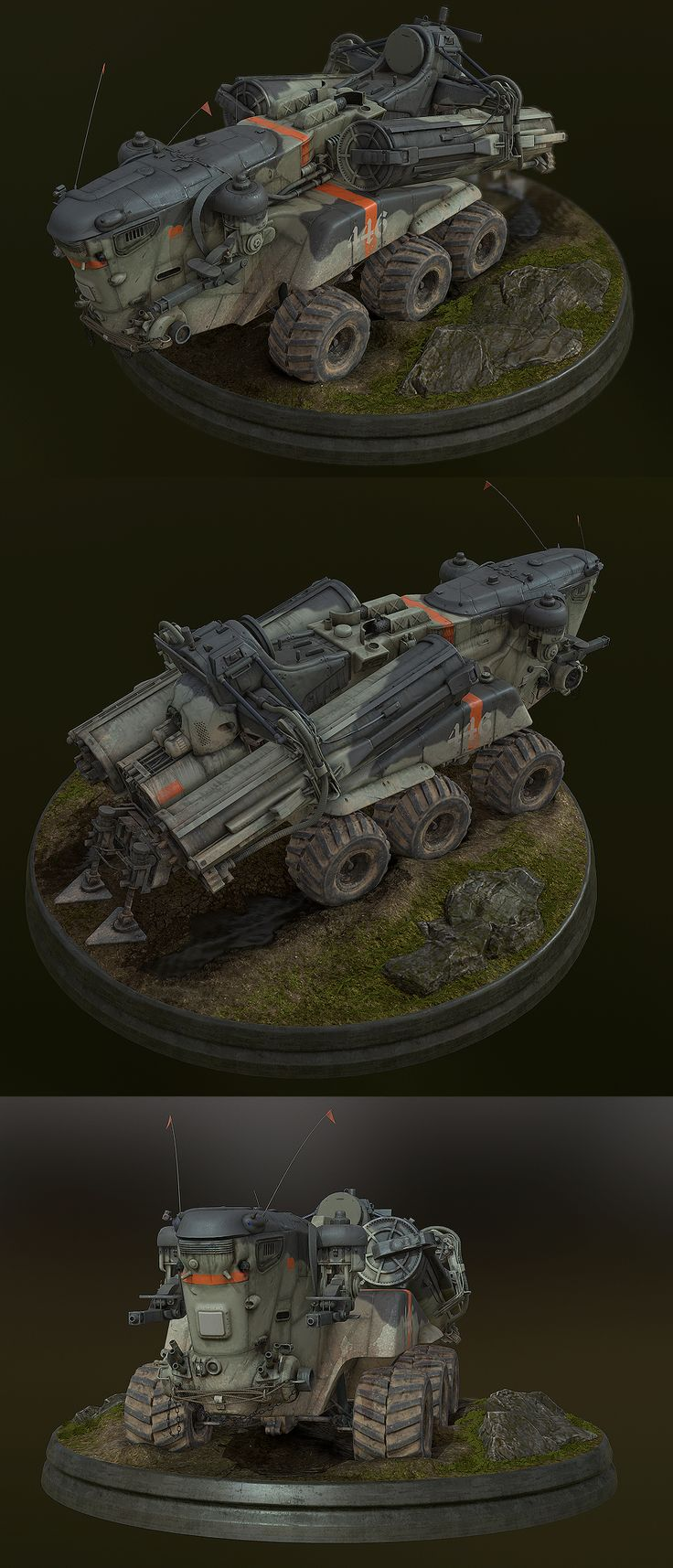 Marble bardler military vehiclescool